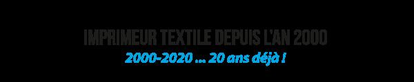 Impression textile en France depuis 20 ans
