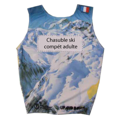 Chasubles Ski Compet Adulte